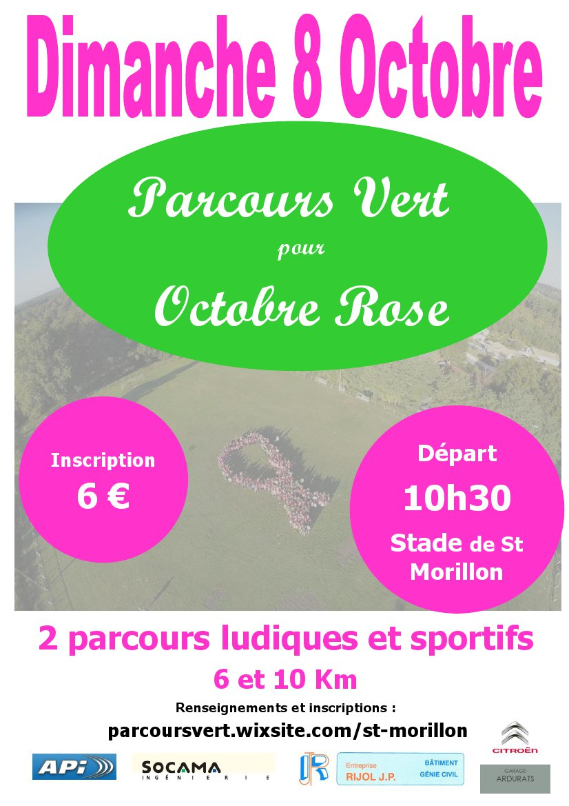 affiche 2 OCTOBRE ROSE 2017