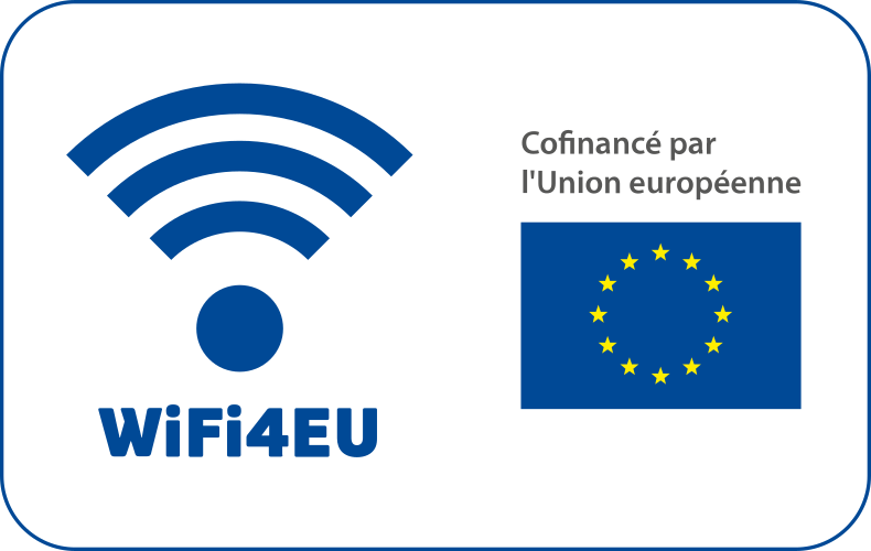 WiFi4EU picto European Union blue FR Horizontal