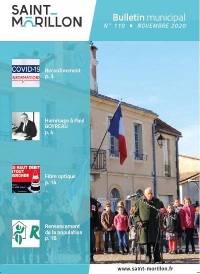 Bulletin Municipal N°110 - nov. 2020